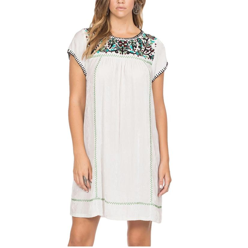 Double D Ranch Annie Embroidered Dress