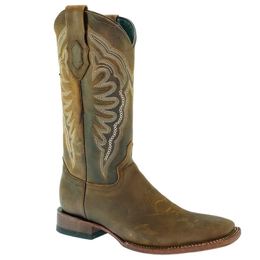 Ferrini Brown Vaquero Men's Boots