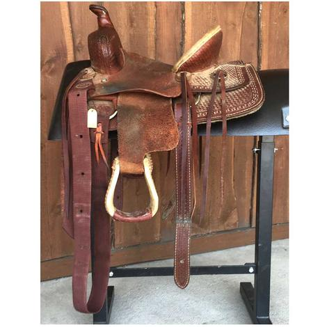 Heart O Texas Youth Ranch Used Saddle
