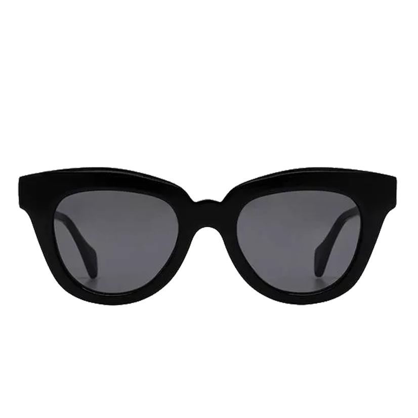 Diff Eyewear Jagger Black And Grey Lens Sunglasses