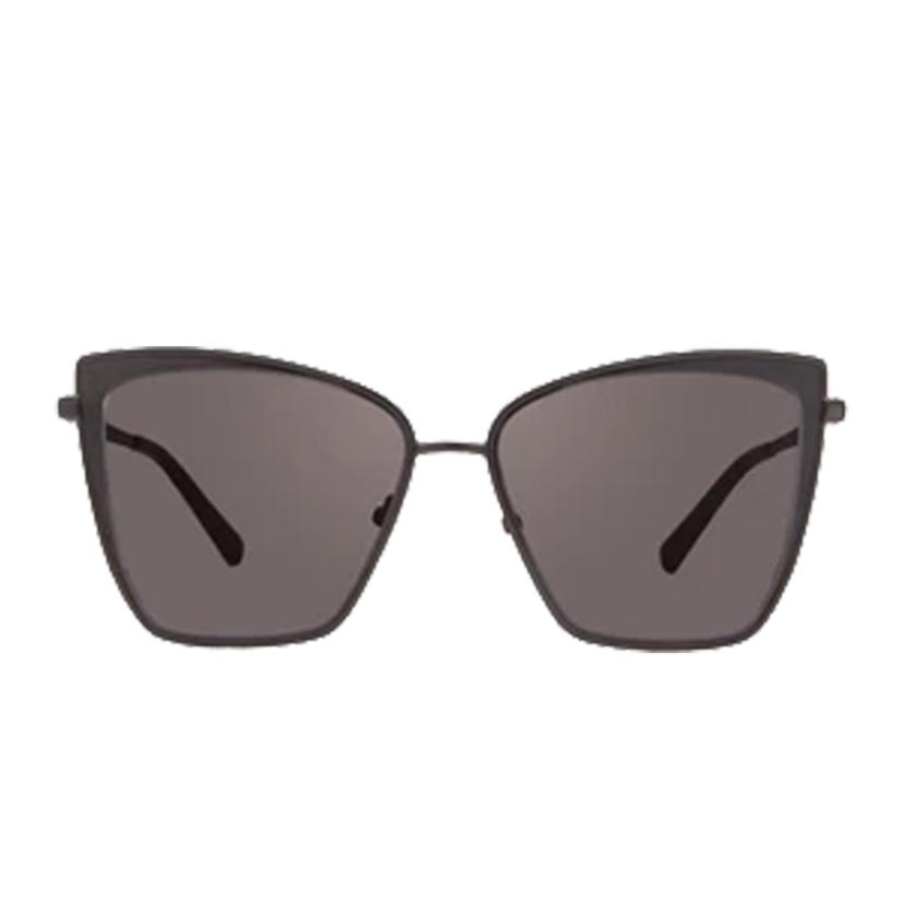 Diff Eyewear Becky Black And Dark Smoke Lens Sunglasses