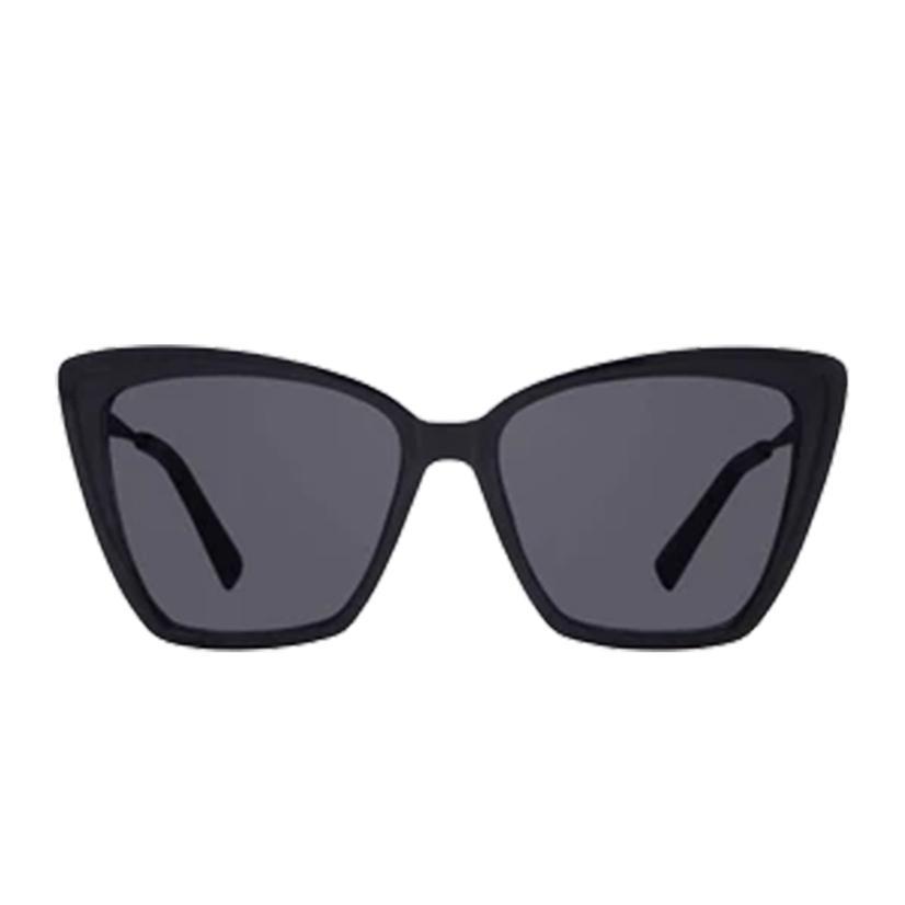 Diff Eyewear Beck Ii Black And Dark Lens Sunglasses
