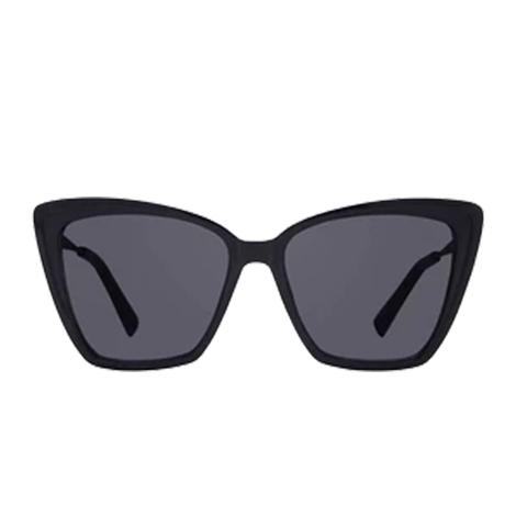 DIFF Eyewear Beck II Black and Dark Lens Sunglasses