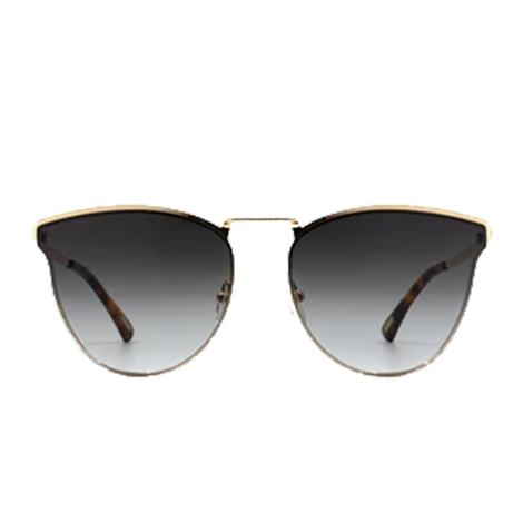 DIFF Eyewear Sadie Gold and Grey Gradient Lens Sunglasses