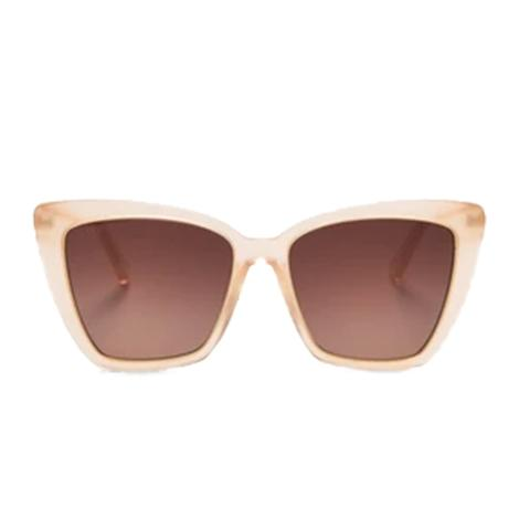 DIFF Eyewear Becky IV Melon Crush with Gold Metal Sunglasses