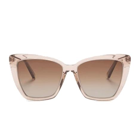 DIFF Eyewear Becky IV Vintage Crystal with Silver Glasses
