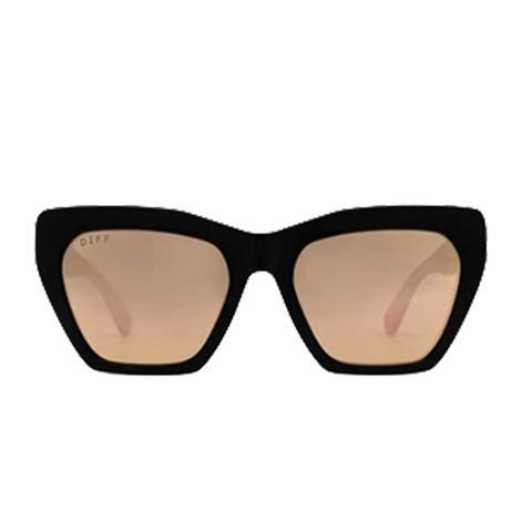 DIFF Eyewear Wren Matte Black Sunglasses