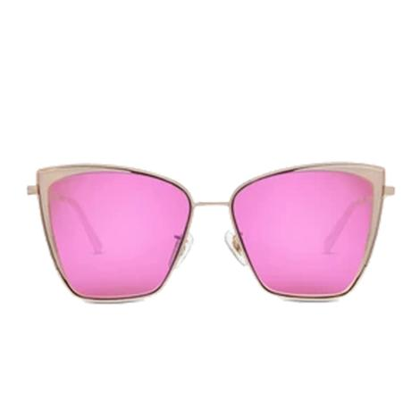 DIFF Eyewear Becky Rose Gold Sunglasses