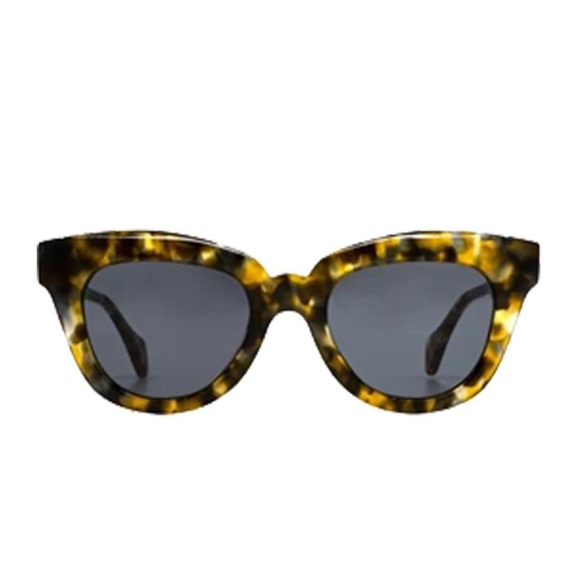 Diff Eyewear Jagger Sea Turtle Tortoise Sunglasses