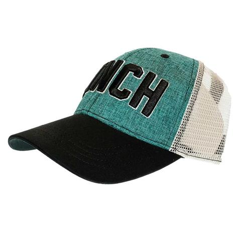Cinch Men's Mesh Back Trucker with 3D Logo Embroidery