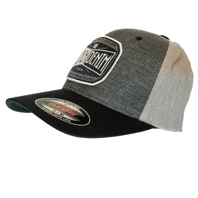 Cinch Men's Flexfit Gray Baseball Cap