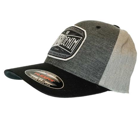 Cinch Men's Flexfit Gray Baseball Cap