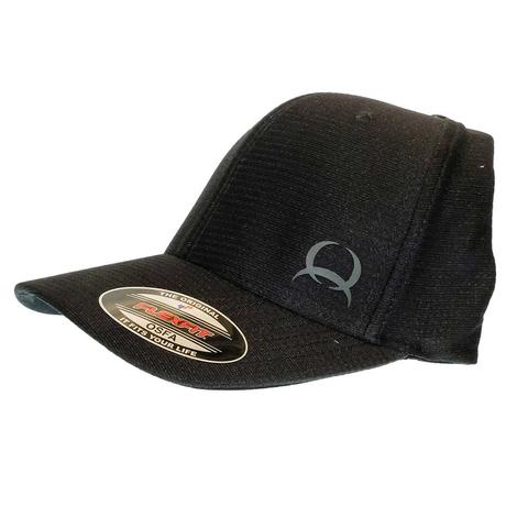 Cinch Men's Black Flexfit Baseball Cap