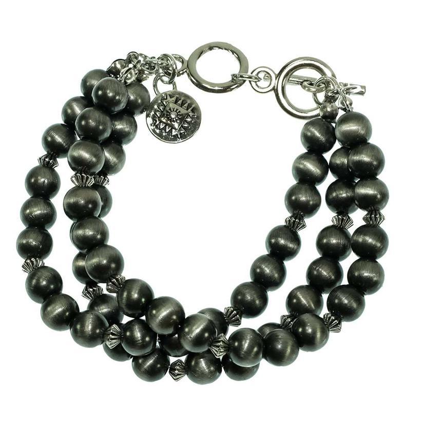 West & Company Three Strand Silver Bracelet
