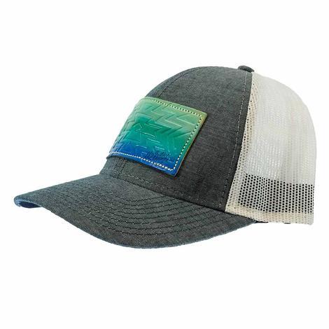 Miranda Mcintire Blue Ombre Cap