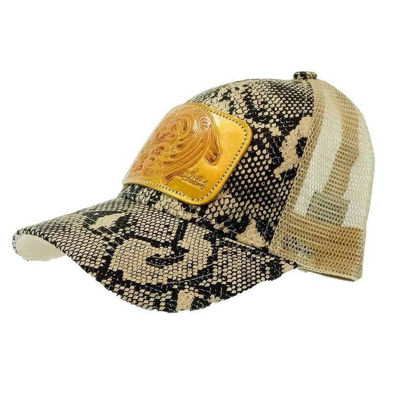 Miranda Mcintire Tool With Gold Background Cap