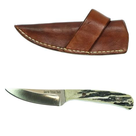 STT Signature Series Small Ranch Knife with Stag Handle