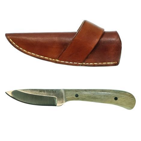 STT Signature Series Medium Ranch Knife with Montana Blue Handle