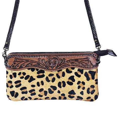 American Darling Bags Cheetah Clutch