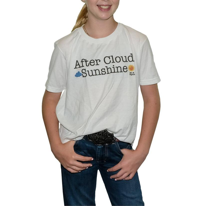 Elle M Originals After Cloud Sunshine Girl's Tee