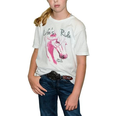 Elle M. Originals Life's Ride Tee