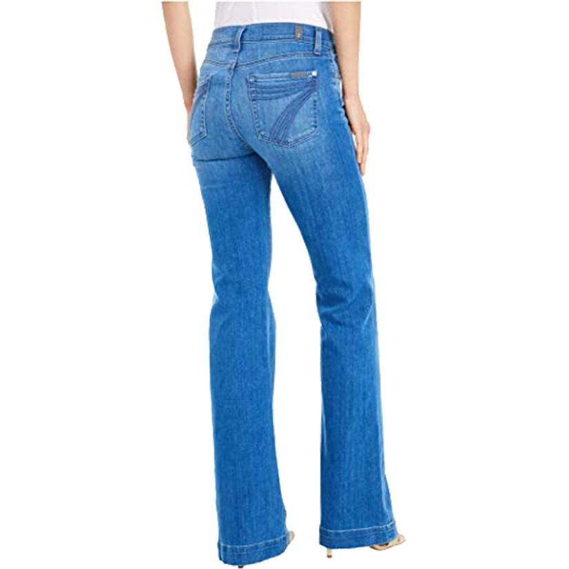 7 For All Mankind Dojo Shoreline Drive Women's Trousers
