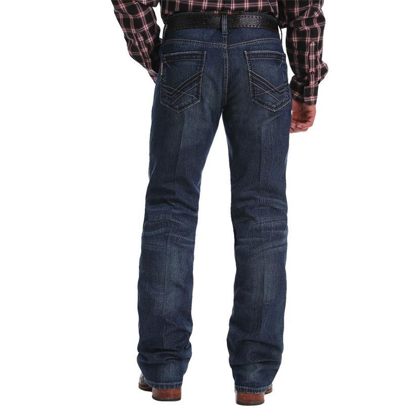Cinch Ian Dark Wash Slim Bootcut Men's Jeans