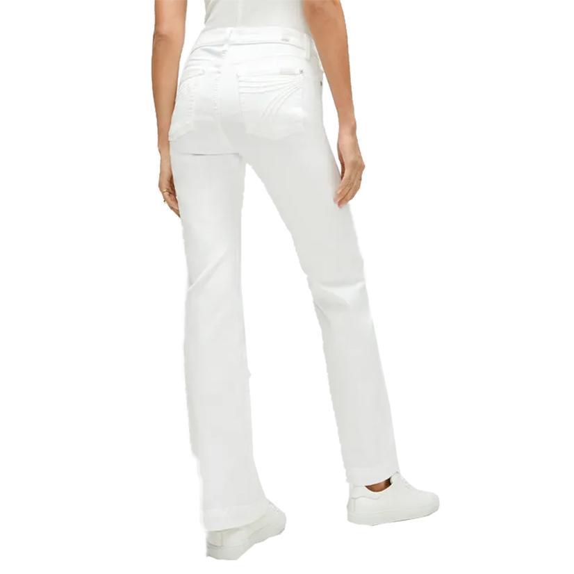 7 For All Mankind Luxe White Dojo Women's Jeans