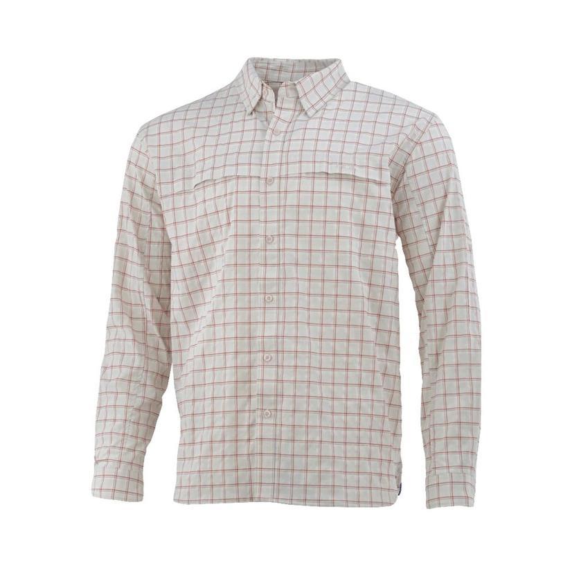 Huk Cascade Box Long Sleeve Shirt