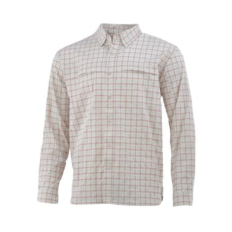 HUK Cascade Box Long Sleeve Shirt