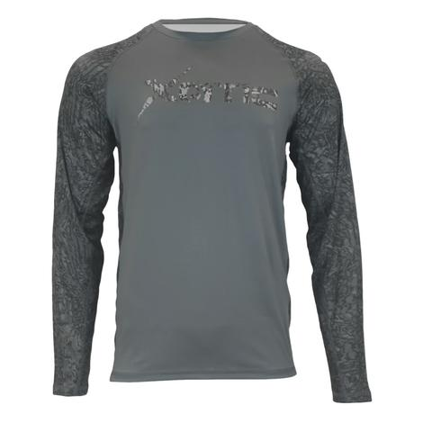 Xotic Recon Grey Long Sleeve Performance Men's Shirt