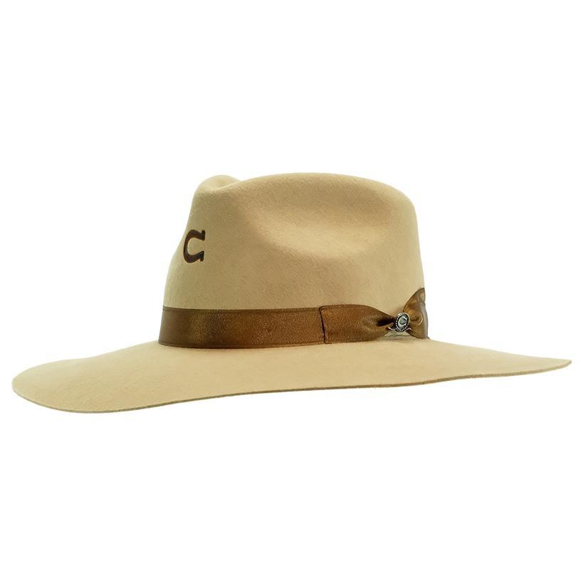 Charlie 1 Horse Highway Sand Felt Hat