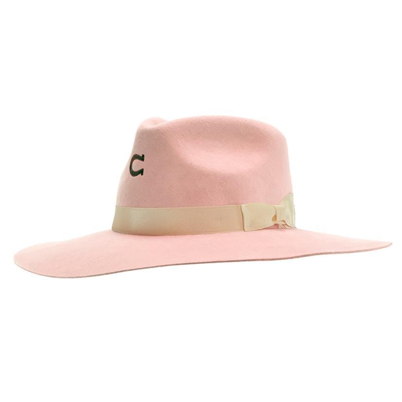 Charlie 1 Horse Pink Highway Felt Hat