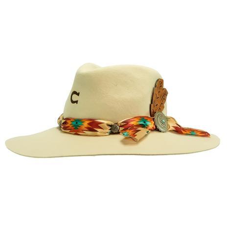 Charlie 1 Horse Navajo Ivory Felt Hat