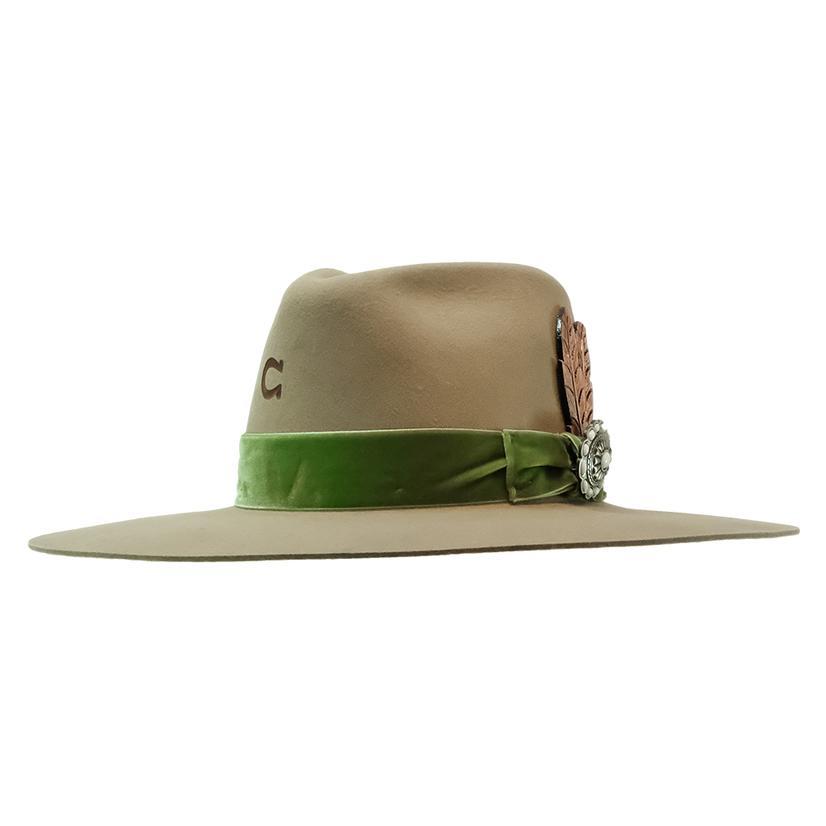 Charlie 1 Horse Hippie Buck Felt Hat