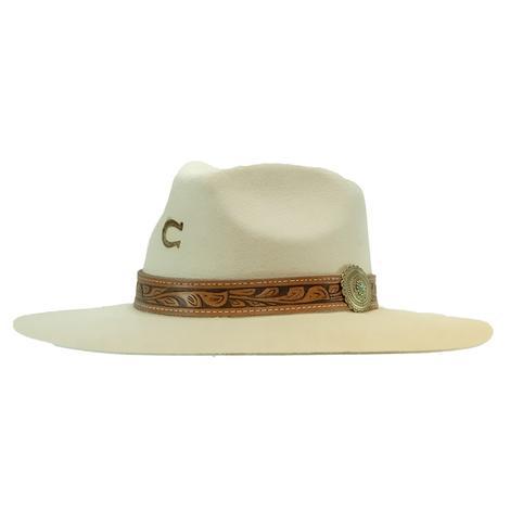 Charlie 1 Horse White Sands Felt Hat