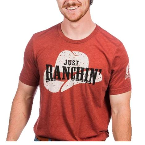 Dale Brisby Clay Just Ranchin' Men's Tee