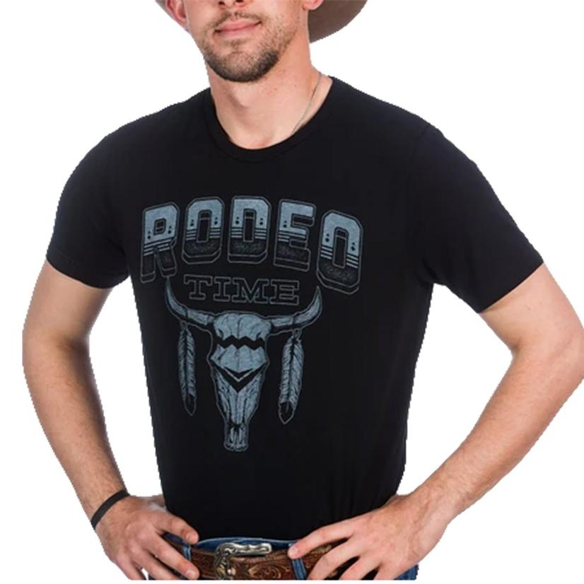 Dale Brisby Black Tribal Rodeo Time T- Shirt