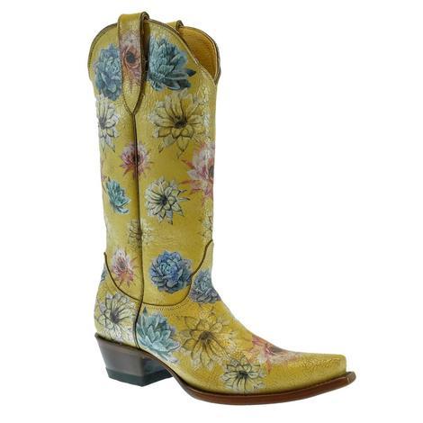 Old Gringo Women's Saguaro Flower Boot