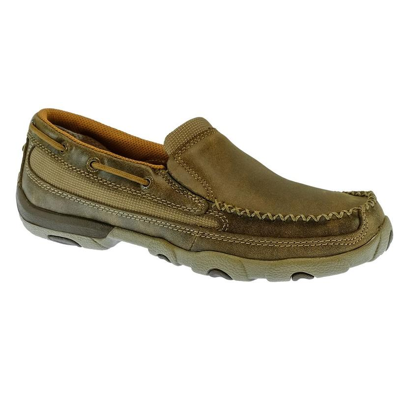 Twisted X Slip On Driving Moc Women's Bomber