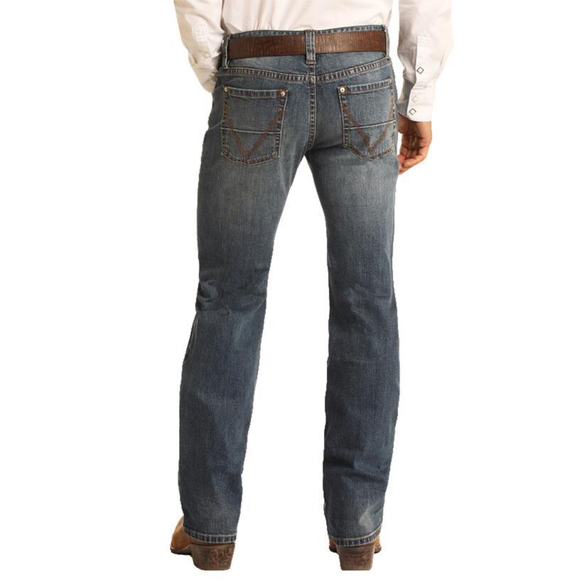 Rock And Roll Cowboy Vintage 46 Double Barrel Straight Leg Men's Jeans