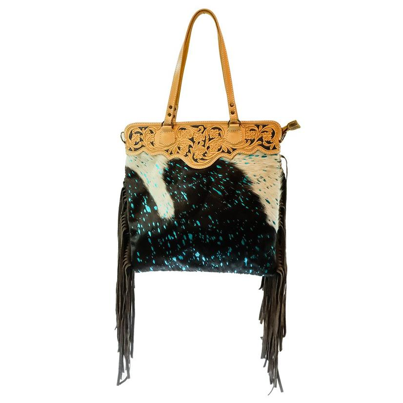 American Darling Acid Wash Turquoise Bag