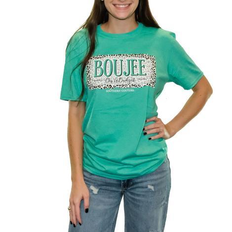 Heather Seafoam Green On a Budget Short Sleeve T-Shirt