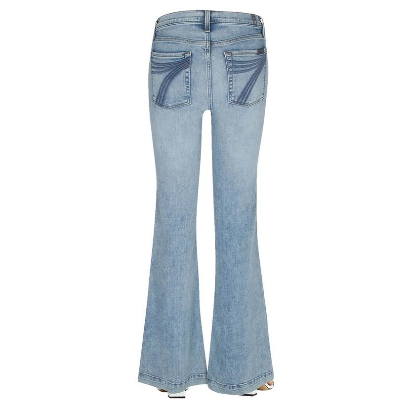 7 For All Mankind Light Wash Camrose Dojo Trouser Jeans