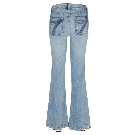 7 for All Mankind Light Wash Camrose Dojo Trouser Jeans