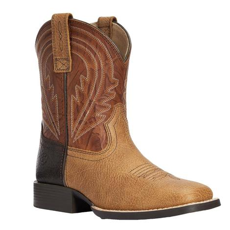 Ariat Lil' Hoss Cottage Cinnamon Kids and Youth Boots