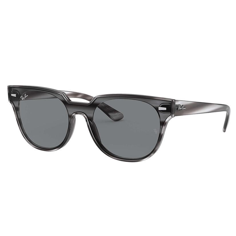Ray- Ban Grey Blaze Meteor Sunglasses