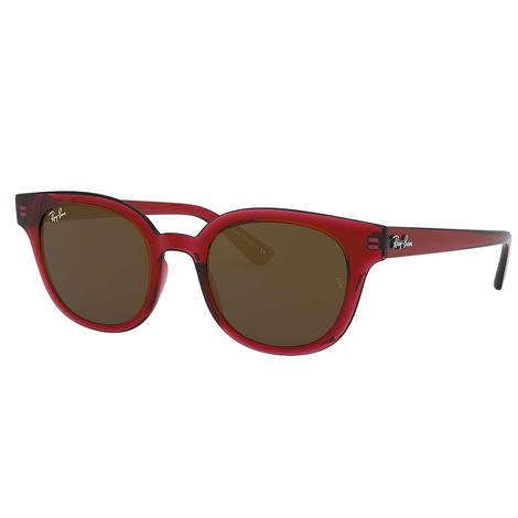 Ray-Ban Red Winged Frame Sunglasses
