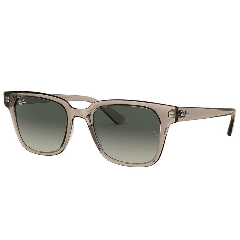 Ray- Ban Grey Transparent Grey Gradient Sunglasses