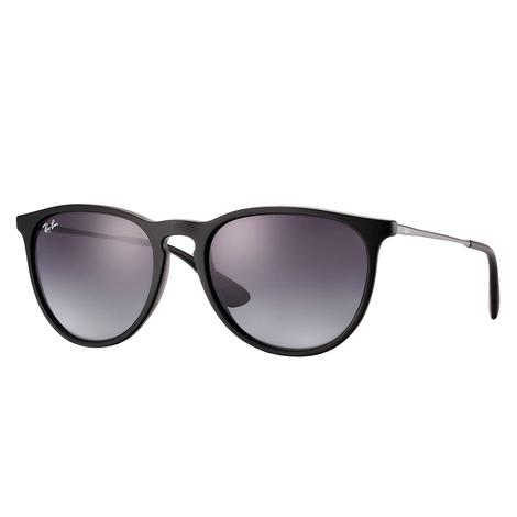 Ray-Ban Erika Rubber Black Sunglasses